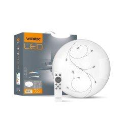 Світильник LED  функціональний круглий VIDEX DROP 72W 2800-6200K 220V (VL-CLS2031-72)