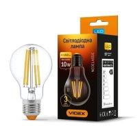 Фото Лампа LED  VIDEX Filament A60F 10W E27 4100K 220V