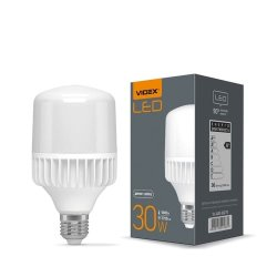Лампа LED VIDEX A80 30W E27 5000K 220V  20шт