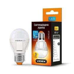 Лампа LED VIDEX G45 7W E27 4100K 220V