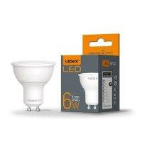 Фото Лампа LED VIDEX MR16e 6W GU10 4100K 220V