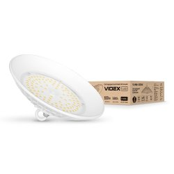 Світильник висотний LED HIGH BAY VIDEX 100W 5000K 220V білий