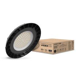 Світильник висотний LED HIGH BAY VIDEX 100W 5000K 220V чорний