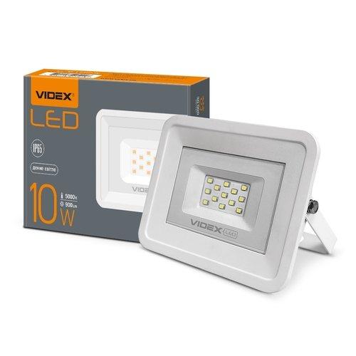 Фото LED прожектор VIDEX 10W 5000K 220V Электробаза