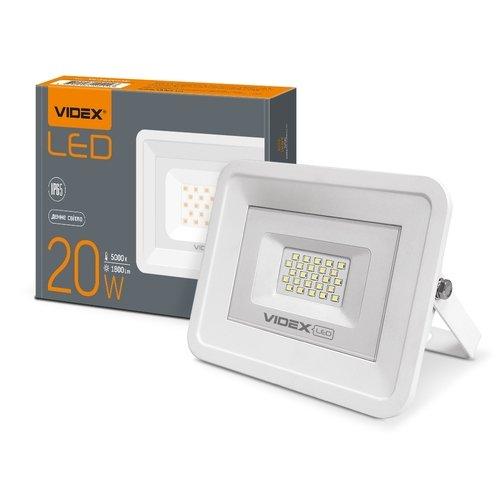 Фото LED прожектор VIDEX 20W 5000K 220V Электробаза