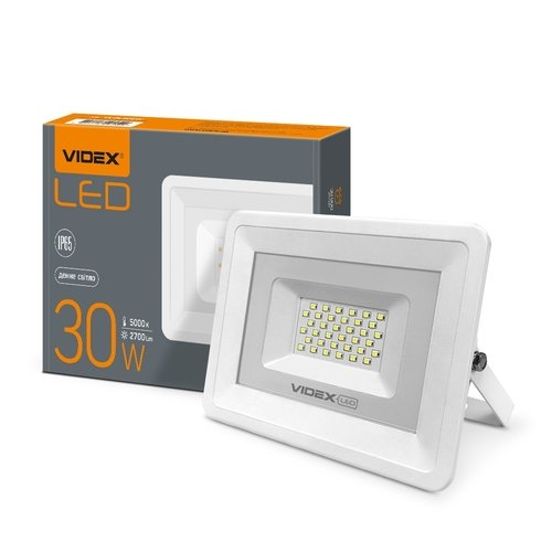 Фото LED прожектор VIDEX 30W 5000K 220V Электробаза