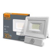 Фото LED прожектор VIDEX 30W 5000K 220V Сенсорный