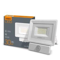LED прожектор VIDEX 30W 5000K 220V Сенсорный