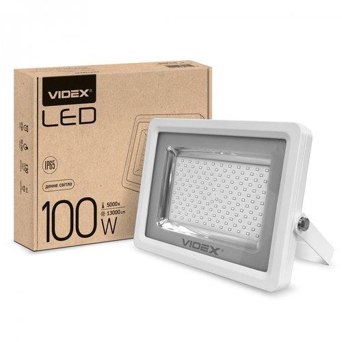 Фото LED прожектор VIDEX PREMIUM 100W 5000K 220V White Электробаза