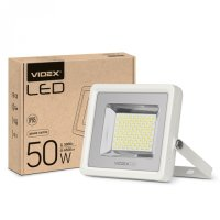 Фото LED прожектор VIDEX PREMIUM 50W 5000K 220V White