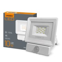 Фото Прожектор LED  VIDEX 10W 5000K 220V (VL-Fe-105W-S) сенсорний
