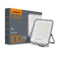 Фото Прожектор LED  VIDEX PREMIUM 100W 5000K 220V Gray