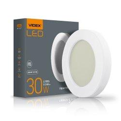Світильник LED  ART ЖКХ круглий VIDEX 30W 5000K 220V