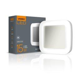 Світильник LED (ART ЖКХ) квадратий VIDEX 15W 5000K 220V