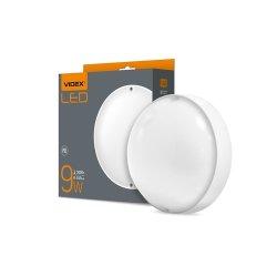 Світильник LED (ЖКХ) круглий VIDEX 9W 5000K 220V білий