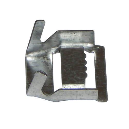 Фото Скрепа для бандажной ленты ( из оцинкованой стали) СКО Электробаза