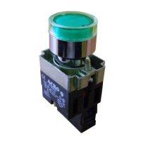 Кнопка с подсветкой зеленая XB2-BW3371
