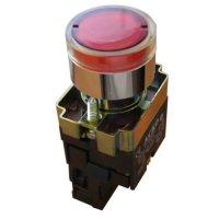 Кнопка с подсветкой красная XB2-BW3471