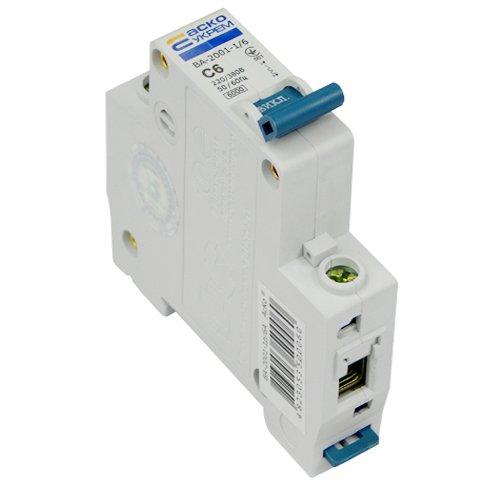 Автоматический выключатель ВА2001 1Р С 6А