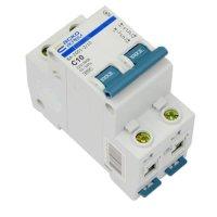 Автоматический выключатель Аско ВА2001 2Р С 10А