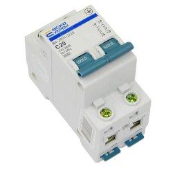 Автоматический выключатель Аско ВА2001 2Р С 20А