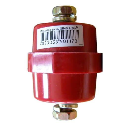Фото Изолятор-держатель шины SM40 (Аско) Электробаза