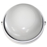 Светильник настенный накладной круг 0101 100W белый Аско
