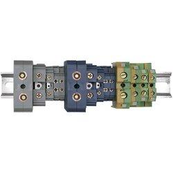 Зажим наборной ЗНИ-6мм2 (JXB50А) серый ИЭК
