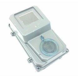 Электрический щиток фасадный пластик под однофазный счётчик и два автомата