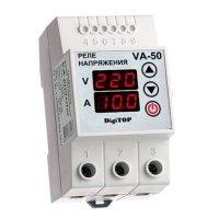 Фото Реле напряжения с контролем тока V-protector VА-50А DigiTOP