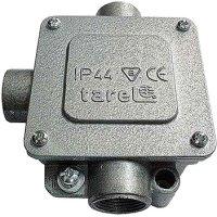 Фото Коробка монтажна металева Р36/3, IP 44, 380 B, 5*16