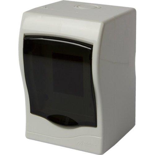 Фото Корпус пластиковий 2-модульний e.plbox.stand.n.02mU, навісний Multusan Электробаза
