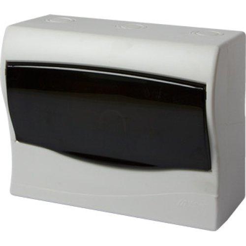 Фото Корпус пластиковий 9-модульний e.plbox.stand.n.09mU, навісний Multusan Электробаза
