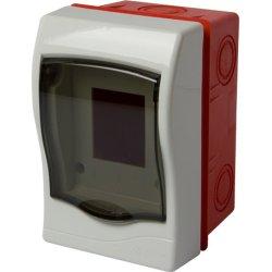 Корпус пластиковий 2-модульний e.plbox.stand.w.02mU, що вбудовується Multusan