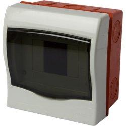 Корпус пластиковий 4модульний e.plbox.stand.w.04mU, що вбудовується Multusan