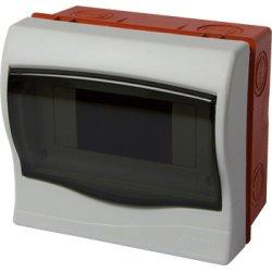 Корпус пластиковий 6-модульний e.plbox.stand.w.06mU, що вбудовується Multusan