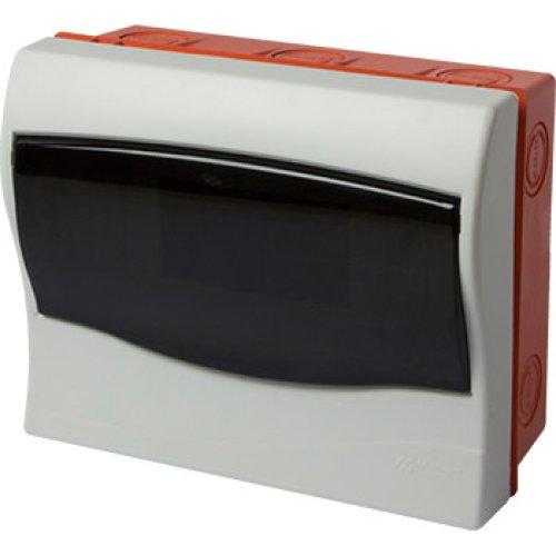Фото Корпус пластиковий 9-модульний e.plbox.stand.w.09mU, що вбудовується Multusan Электробаза