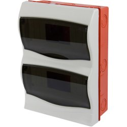 Корпус пластиковий 24-модульний e.plbox.stand.w.24mU, що вбудовується Multusan