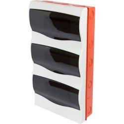 Корпус пластиковий 36-модульний e.plbox.stand.w.36mU, що вбудовується Multusan