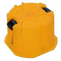 Фото Коробка установочная D60мм гипсокартон (желтая)