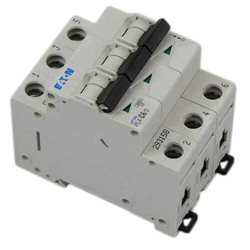 Фото Moeller автоматические выключатели, PL4-C 4.5кА 3Р 6А Электробаза