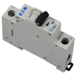 Автоматический выключатель Eaton, Moeller PL6-C 6кА 4А 1-полюс.