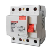 Фото Устройство защитного отключения УЗО 1-63 3P+N 50А 300 mA тип С 4,5кА Electro