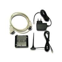 Фото модем + блок питания + антена + кабель RS232