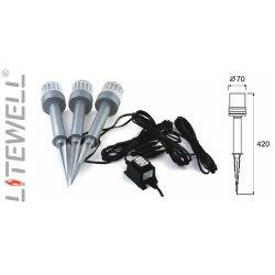 Светильник ландшафтный   LED-P01В