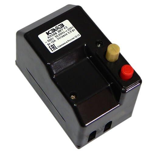 Фото Автоматический выключатель АП 50 Б-2МТ-10А Электробаза