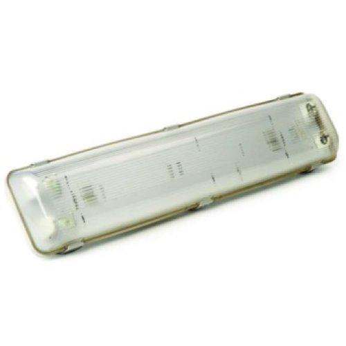 Фото Светильник люминесцентный пылевлагозащищенный 2х18W G13 IP65 MAGNUM Электробаза