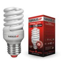 Фото Лампа энергосберегающая New full spiral 32W, 4100K,  E27 MAXUS