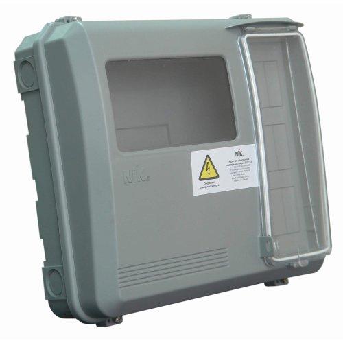 Фото Ящик учета универсальный под 1-ф. и 3-ф. счетчик (DOT 3.1) Электробаза