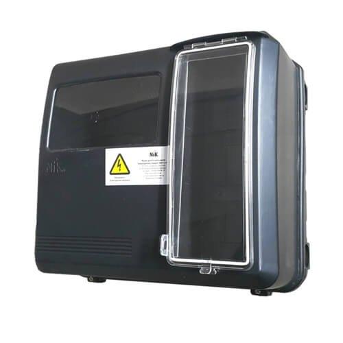 Фото Ящик для счетчика электроэнергии фасадный (уличный) DOT-3.1В Электробаза
